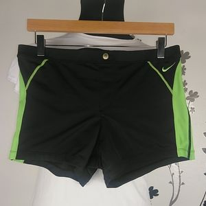 Nike women's swimming shorts size L.